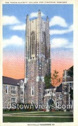 Scarritt College for Christian Workers - Nashville, Tennessee TN Postcard