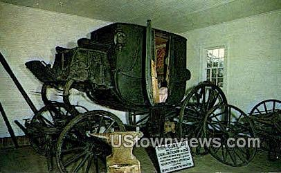 General Jackson's Carriage, The Hermitage - Nashville, Tennessee TN Postcard