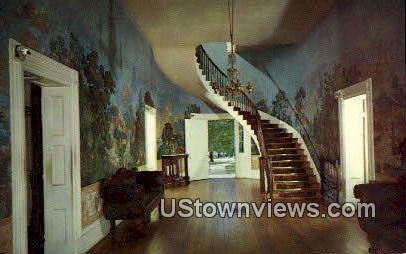 Hall of the Hermitage, Gen Andrew Jackson - Nashville, Tennessee TN Postcard