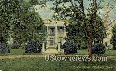 Belle Meade - Nashville, Tennessee TN Postcard