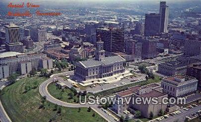 State Capitol - Nashville, Tennessee TN Postcard