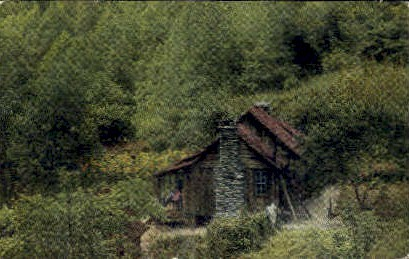 Cabin Home - Great Smoky Mountains National Park, Tennessee TN Postcard