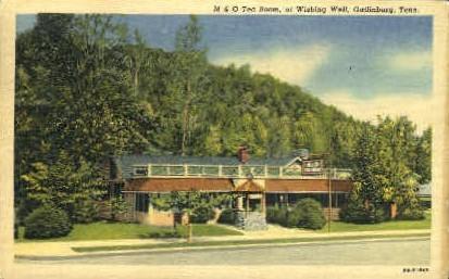 Wishing Well - Gatlinburg, Tennessee TN Postcard