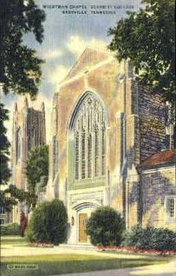 Wightman Chapel - Nashville, Tennessee TN Postcard