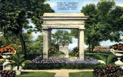 Tomb of President Polk  - Nashville, Tennessee TN Postcard