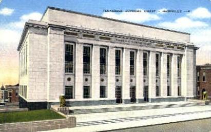 Tennessee Supreme Court - Nashville Postcard