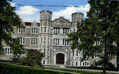 Vanderbilt University - Nashville, Tennessee TN Postcard