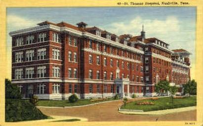 St. Thomas Hospital  - Nashville, Tennessee TN Postcard