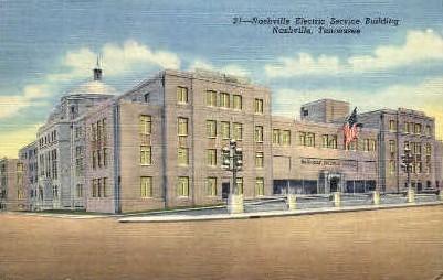Nashville Electric Service Building - Tennessee TN Postcard