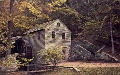 Grist Mill  - Norris, Tennessee TN Postcard