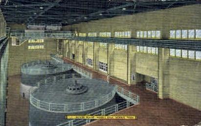 Power Plant - Norris, Tennessee TN Postcard