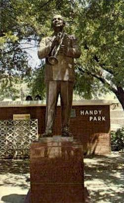 Handy Park - Memphis, Tennessee TN Postcard