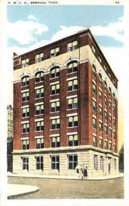 Y.W.C.A. - Memphis, Tennessee TN Postcard