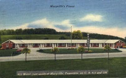 411 Motel  - Maryville, Tennessee TN Postcard