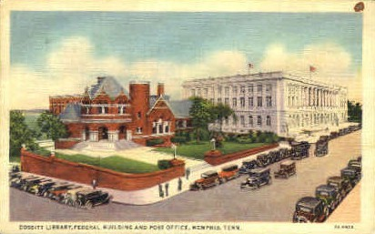 Federal Bulding & Post Office - Memphis, Tennessee TN Postcard