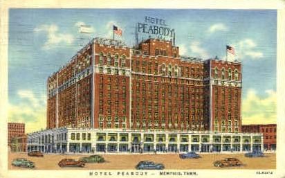 Hotel Peabody  - Memphis, Tennessee TN Postcard