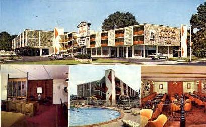 Admiral Benbow Inn - Memphis, Tennessee TN Postcard