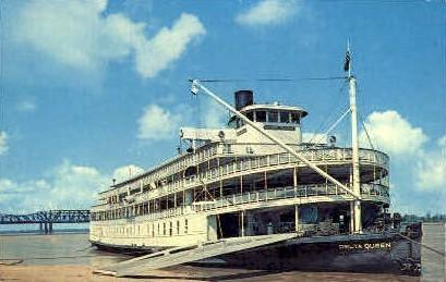 The Delta Queen  - Memphis, Tennessee TN Postcard