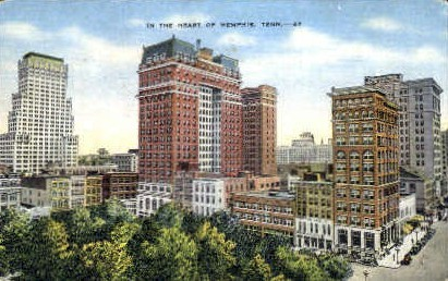 Memphis, Tennessee, TN Postcard