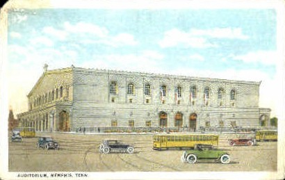 Auditorium  - Memphis, Tennessee TN Postcard