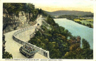 Jaonas Bluff - Lookout Mountain, Tennessee TN Postcard