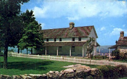 The Cravens House - Chattanooga, Tennessee TN Postcard