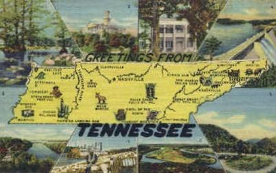 Misc, Tennessee, TN Postcard