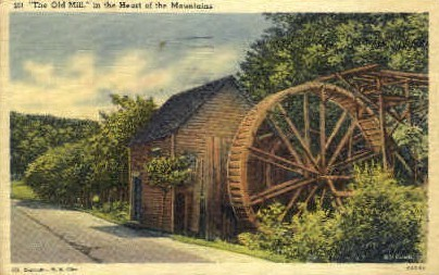 The Old Mill  - Misc, Tennessee TN Postcard