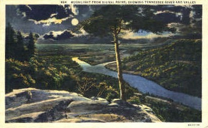 Tennessee River & Valley - Misc Postcard