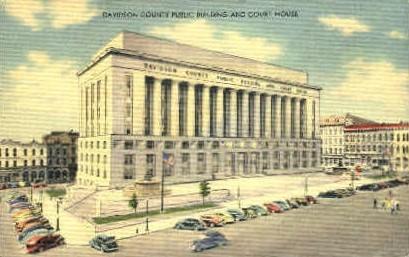 Davidson County Public Building - Misc, Tennessee TN Postcard