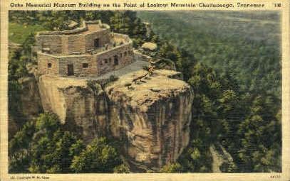 Ochs Memorial Museum Building  - Chattanooga, Tennessee TN Postcard