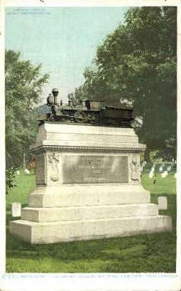 Andrews Raiders, National Cemetery  - Chattanooga, Tennessee TN Postcard