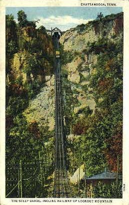 Incline Railway - Chattanooga, Tennessee TN Postcard