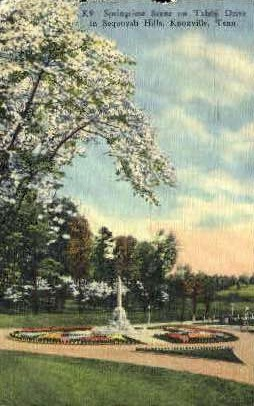 Sequoyah Hills - Knoxville, Tennessee TN Postcard