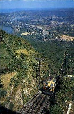 Incline Railway - Lookout Mountain, Tennessee TN Postcard