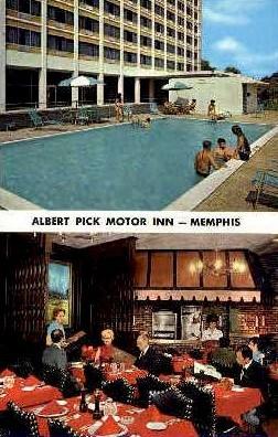 Albert Pick Motor Inn - Memphis, Tennessee TN Postcard