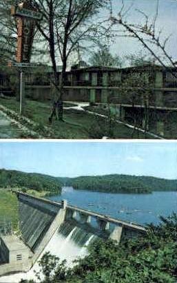 Norris Dam Motel - Tennessee TN Postcard