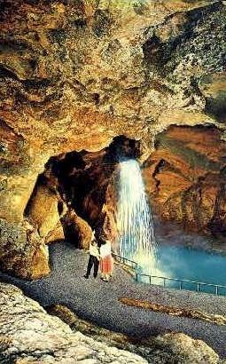 Emerald Falls - Sweetwater, Tennessee TN Postcard