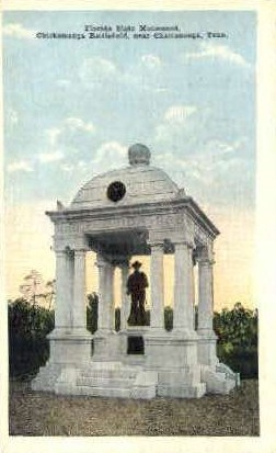 Florida State Monument - Chattanooga, Tennessee TN Postcard