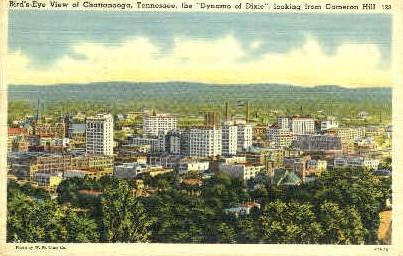 Cameron Hill - Chattanooga, Tennessee TN Postcard
