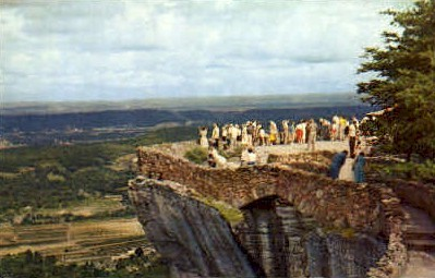 Lover's Leap, Rock City Gardens - Chattanooga, Tennessee TN Postcard