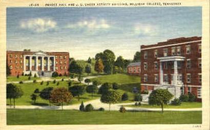 Milligan College - Tennessee TN Postcard