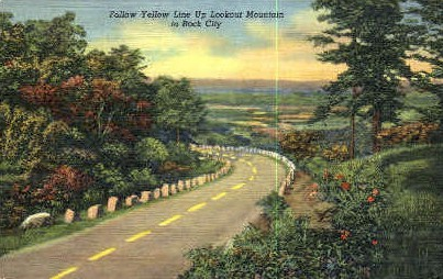 Rock City - Lookout Mountain, Tennessee TN Postcard