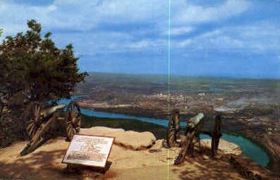 Garrity's Alabama Battery - Chattanooga, Tennessee TN Postcard