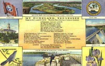 State Capitol & Norris Dam - Misc, Tennessee TN Postcard