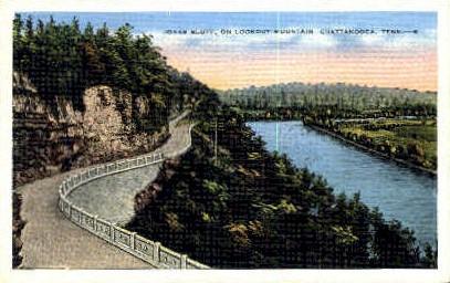 Jonas Bluff, Lookout Mountain  - Chattanooga, Tennessee TN Postcard