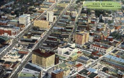 Chattanooga, Tennessee, TN Postcard