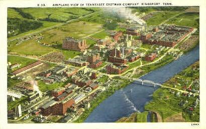 Tennessee Eastman Company  - Kingsport Postcard