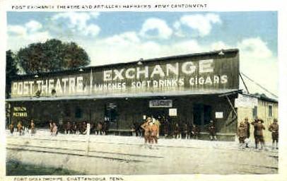 Post Exchange Theatre - Chattanooga, Tennessee TN Postcard