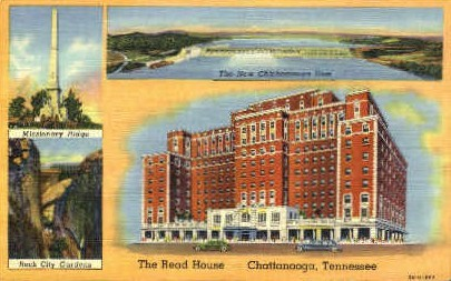 The Read House - Chattanooga, Tennessee TN Postcard